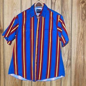 Men's Wrangler Pearl Snap Short Sleeve Shirt
